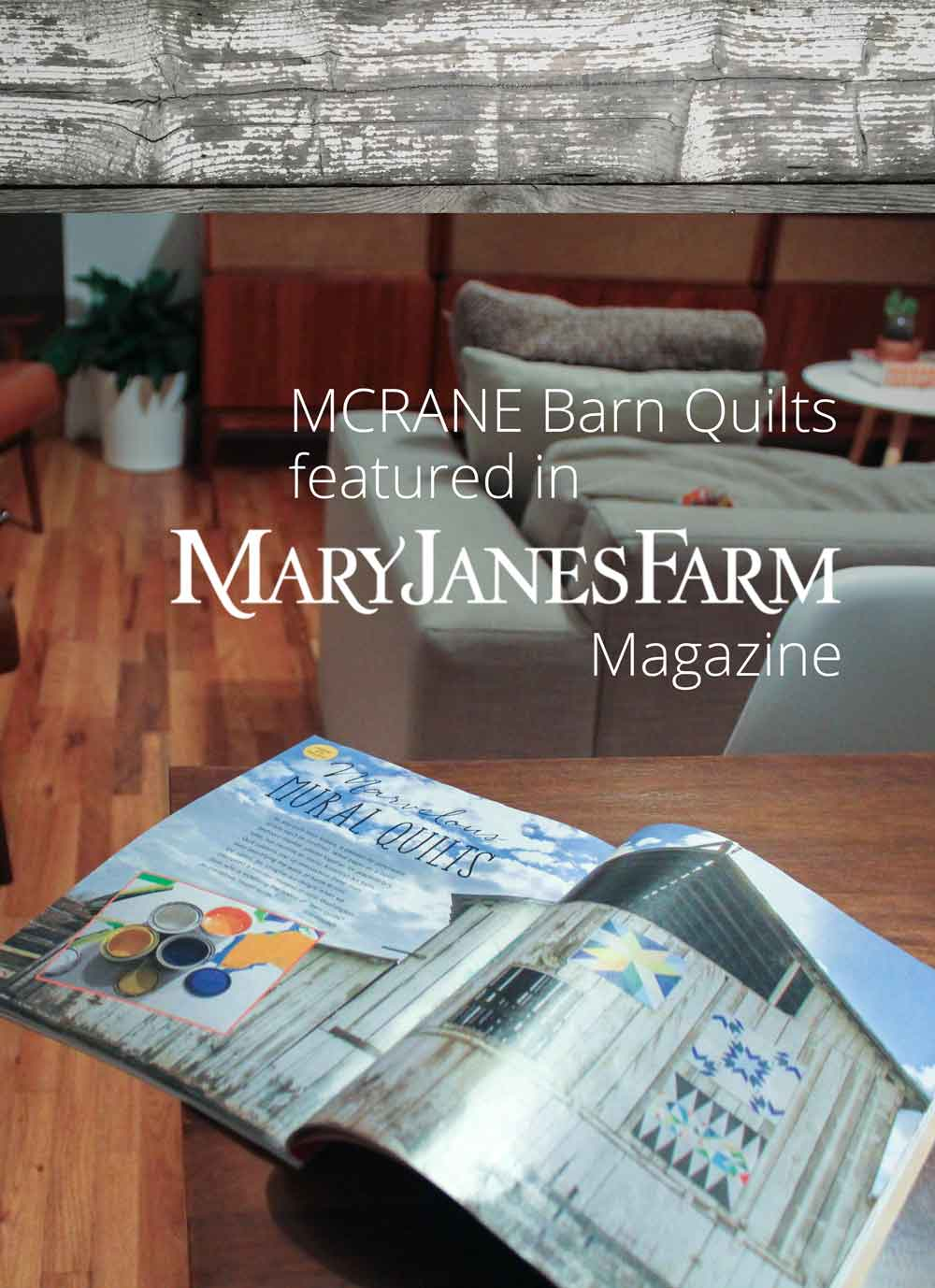 MCrane Mary Janes Farm Magazine Feature